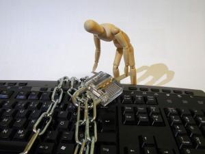 Locked keyboard, courtesy of Pixabay