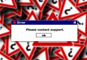 Error message, via Pixabay