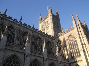 Bath Abbey, courtesy of Pixabay