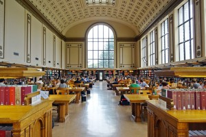 Library hall, courtesy of Pixabay