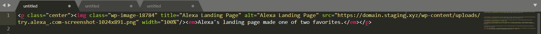 IMG Code Example