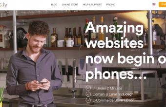 Impress.ly homepage screenshot