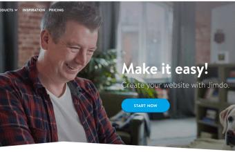 Jimdo Homepage Screenshot