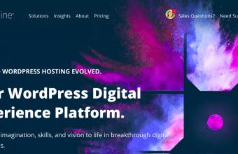 WPEngine Homepage Screenshot
